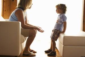 разговор с малышом