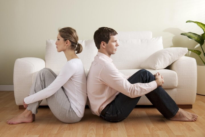 трудности в совместной жизни