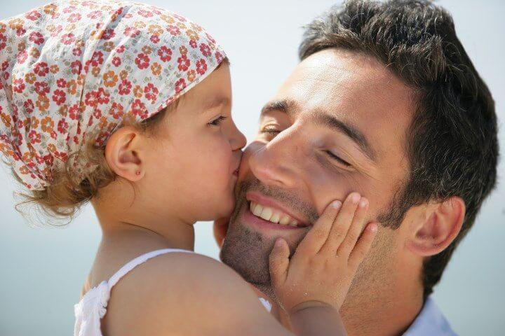 счастливый отец