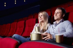 Поход в кинотеатр с любимым человеком