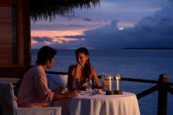 Романтический ужин с любимым человеком