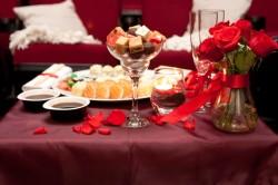 Романтический ужин как способ попросить прощения