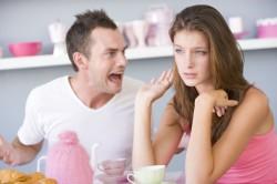 Крик как реакция мужчины на разрыв отношений