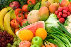 Фрукты и овощи для детского организма