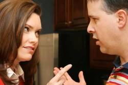 Разговор между супругами