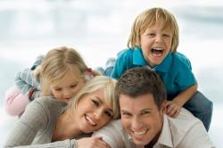 Крепкие семейные отношения