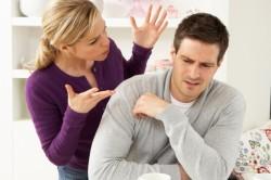 Высказывание обид мужу