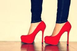 Туфли на каблуках для привлечения мужчин