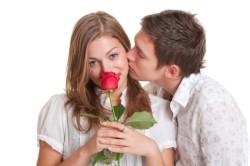 Цветы от влюбленного мужчины