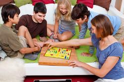 Проведение времени с семьей