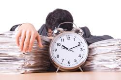 Нехватка времени - причина отсутствия звонка
