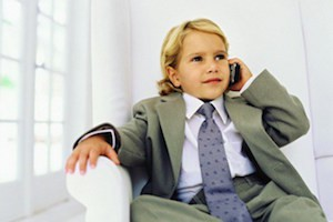 деловой ребенок