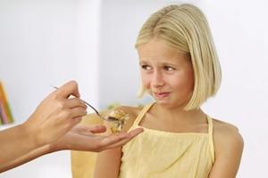 невкусная еда