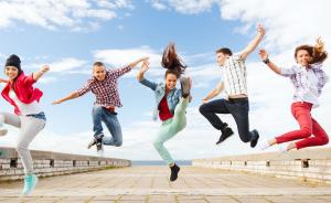 групповой прыжок