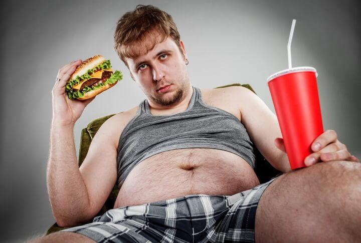 толстый муж