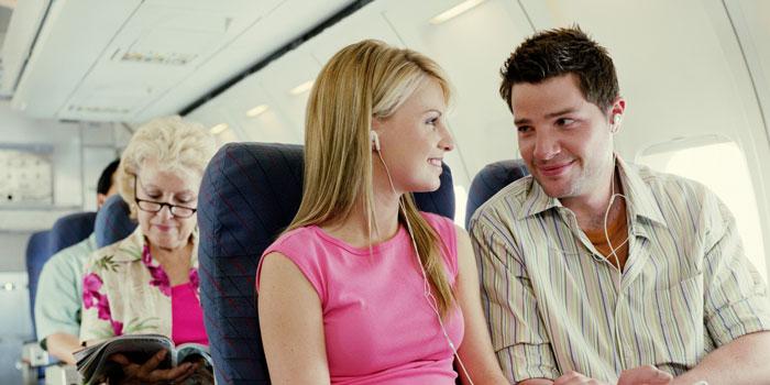 Знакомство в самолете