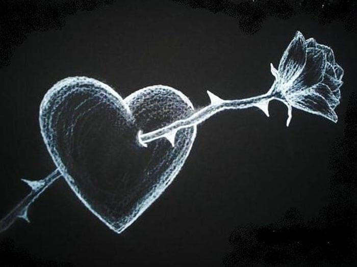 Любовь - это боль