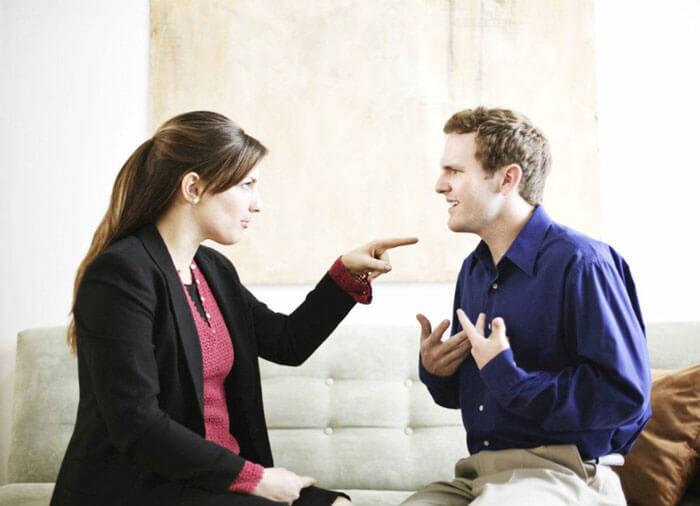 Жена ставит мужа перед выбором