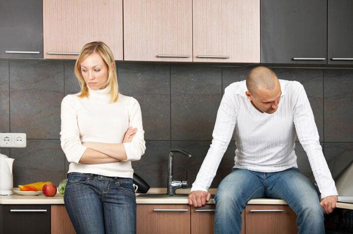 Спор двух супругов