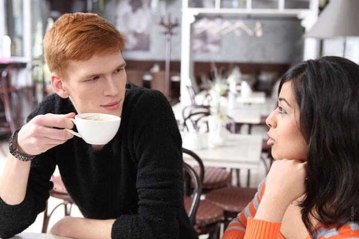Разговор между парой