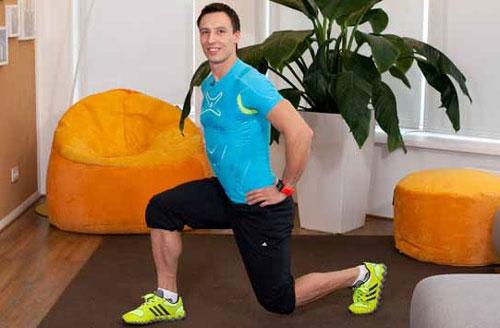 Приседание упражнение