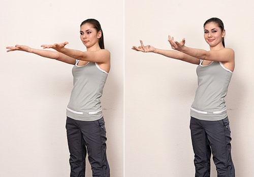 Упражнение дыхательной гимнастики