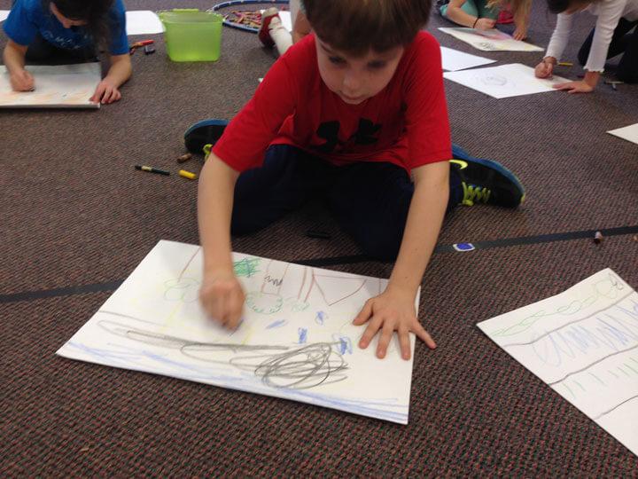 Рисование детских страхов