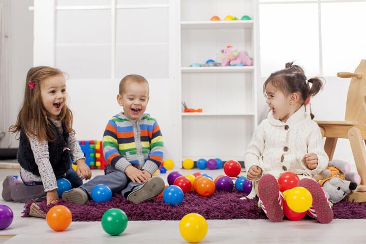 Дети в детском садике