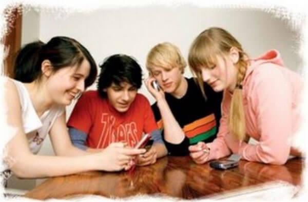Общение подростков
