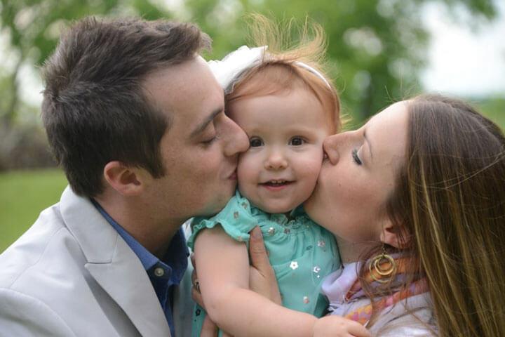 Родители любят своего ребенка