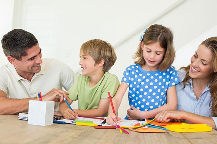 Папа и мама: воспитание детей