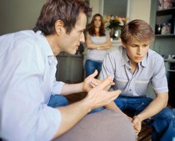 Отношения отца с сыном в семье