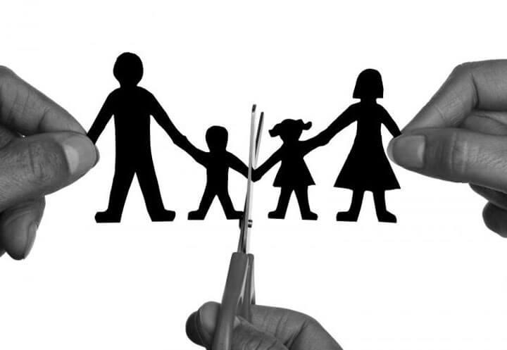Разведенная семья