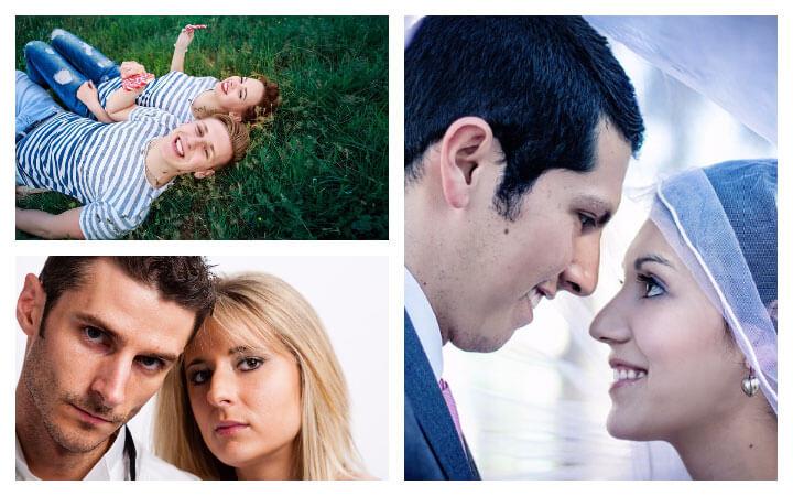 Пара мужчина и женщина