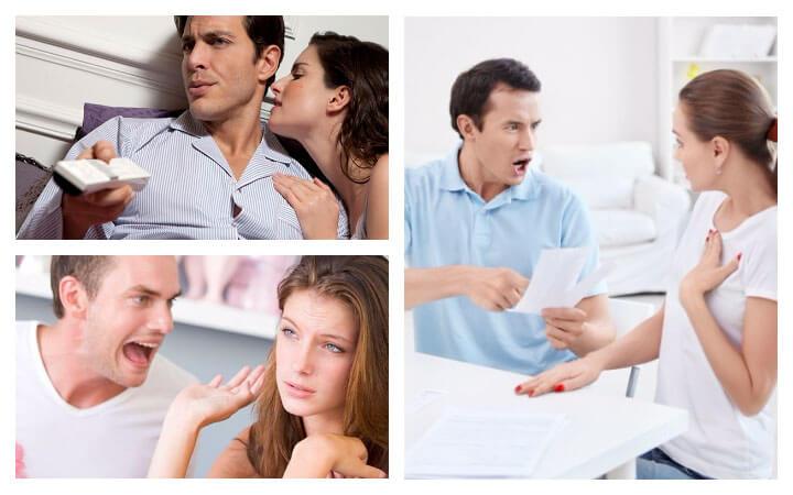 Сексуальные нарушения у обычных мужчин и женщин