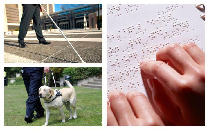 Жизнь слепых