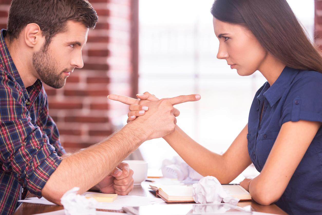муж и жена считают дела